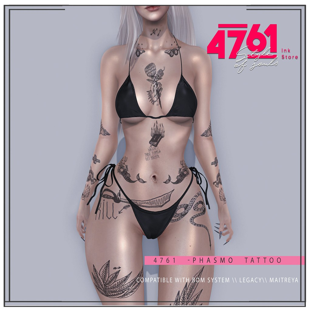 4761 - Phasmo Tattoo