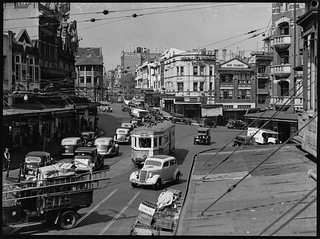 Kings Cross Traffic, c. 1950, Pix Magazine | by State Library of New South Wales collection