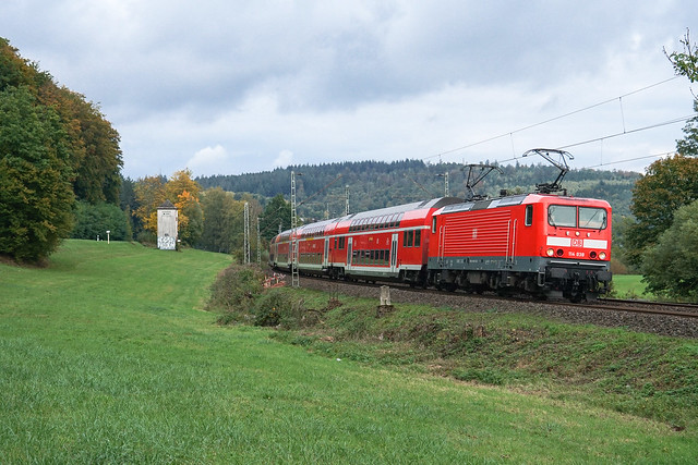 114 038 DB Regio AG | Wírtheim | Oktober 2020