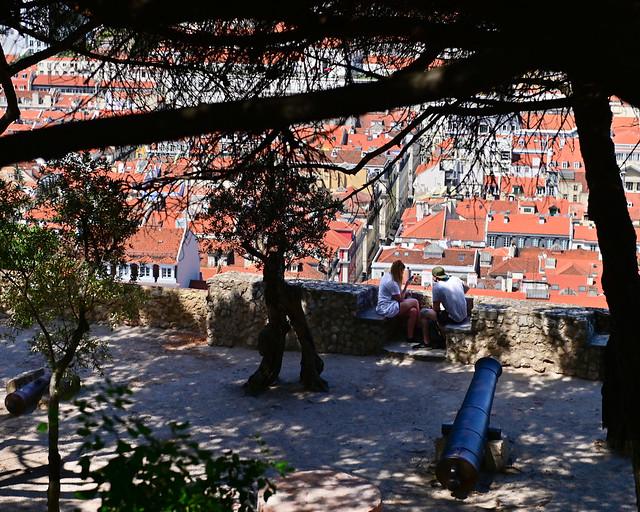 Castelo dos Mouros, en Lisboa