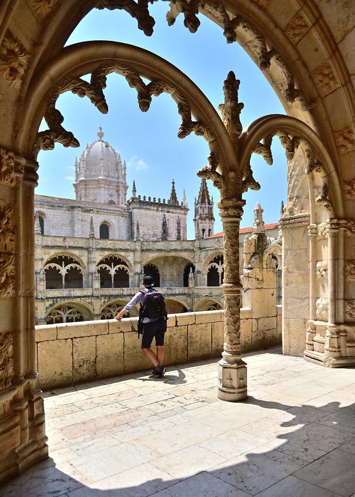 Interior del Monasterio de los Jerónimos