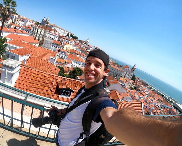 Mirador de Portas do Sol, una de las cosas que ver en Lisboa