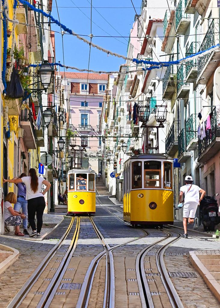 Rua da Bica en Lisboa