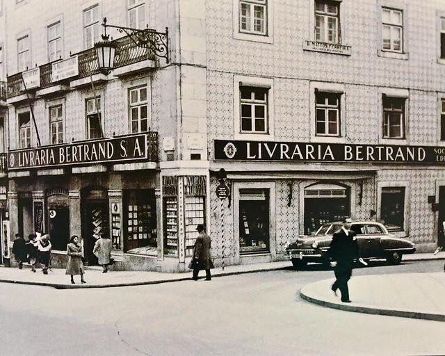 Librería Bertrand en el barrio de Chiado de Lisboa