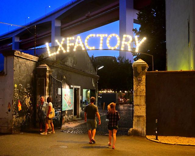 LX Factory de Lisboa
