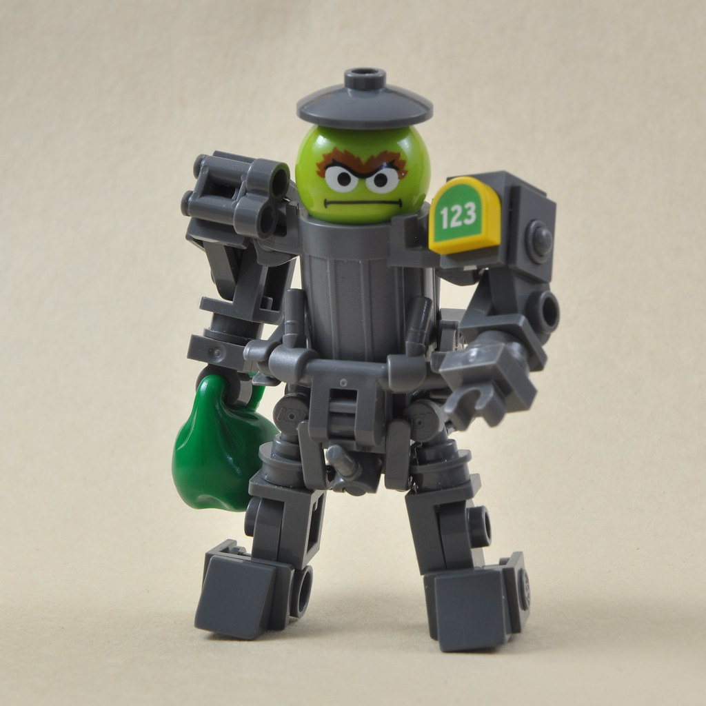 Oscar The Grouch Trash Mech