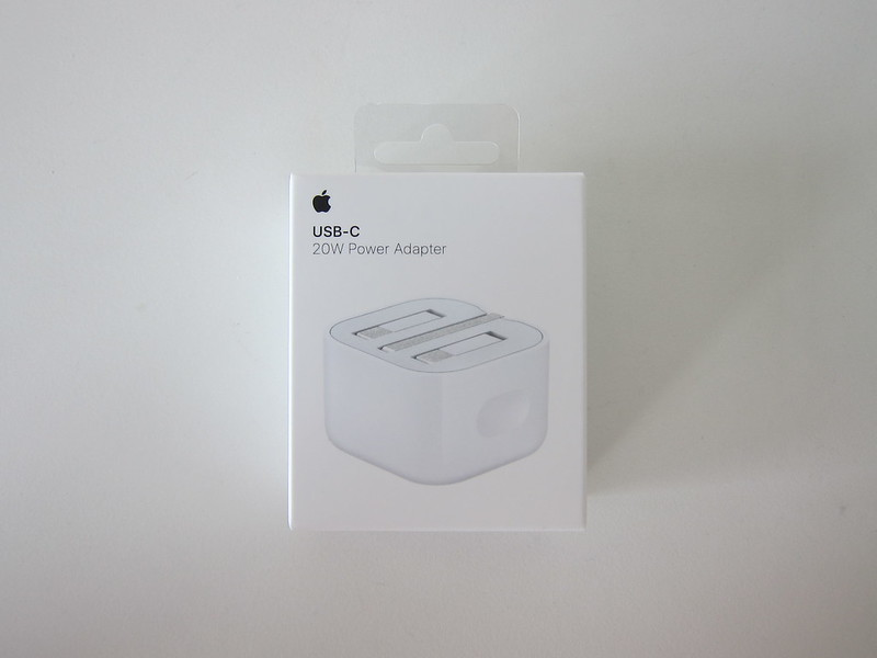 Apple 20W USB-C Power Adapter - Box Front