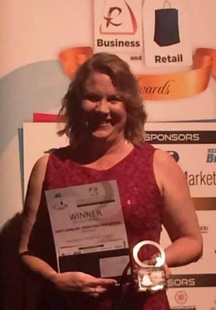 vencedora da Redland Woman in Business 2016