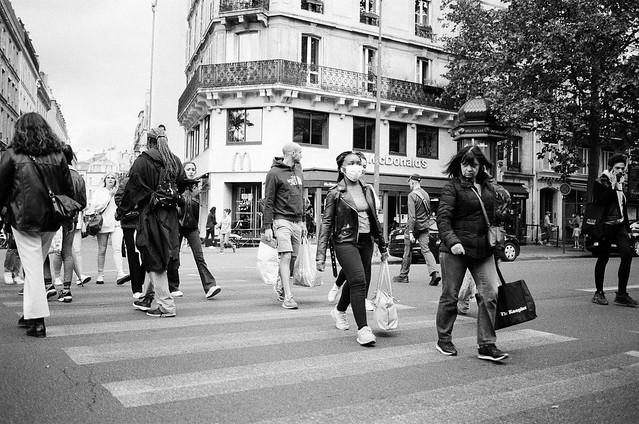 Boulevard Saint-Germain ◾️ Paris 5e - Déconfinement