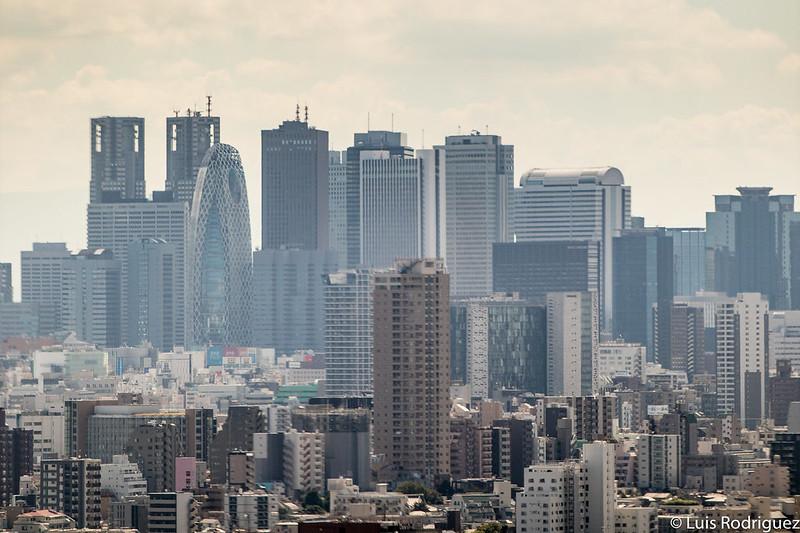 El skyline de Shinjuku desde el mirador del Bunkyo Civic Center