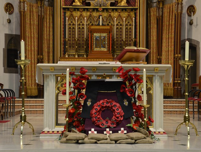 Remembrance Sunday 2020 at St Chad's Cathedral