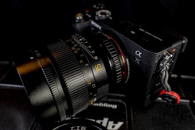 Sony A7c - 7Artisans 75mm f/1.25