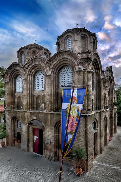 Παναγία Χαλκέων και Άγιος Νεκτάριος Virgin Mary  Chalkeon (coppersmiths) 1028 Unesco W.H. and Saint Nektarios