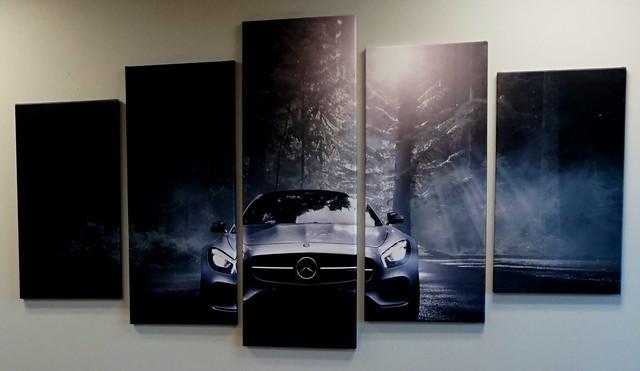 Creative Advertising: Mercedes Display