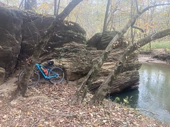 Big Rock on Noonday Creek 1