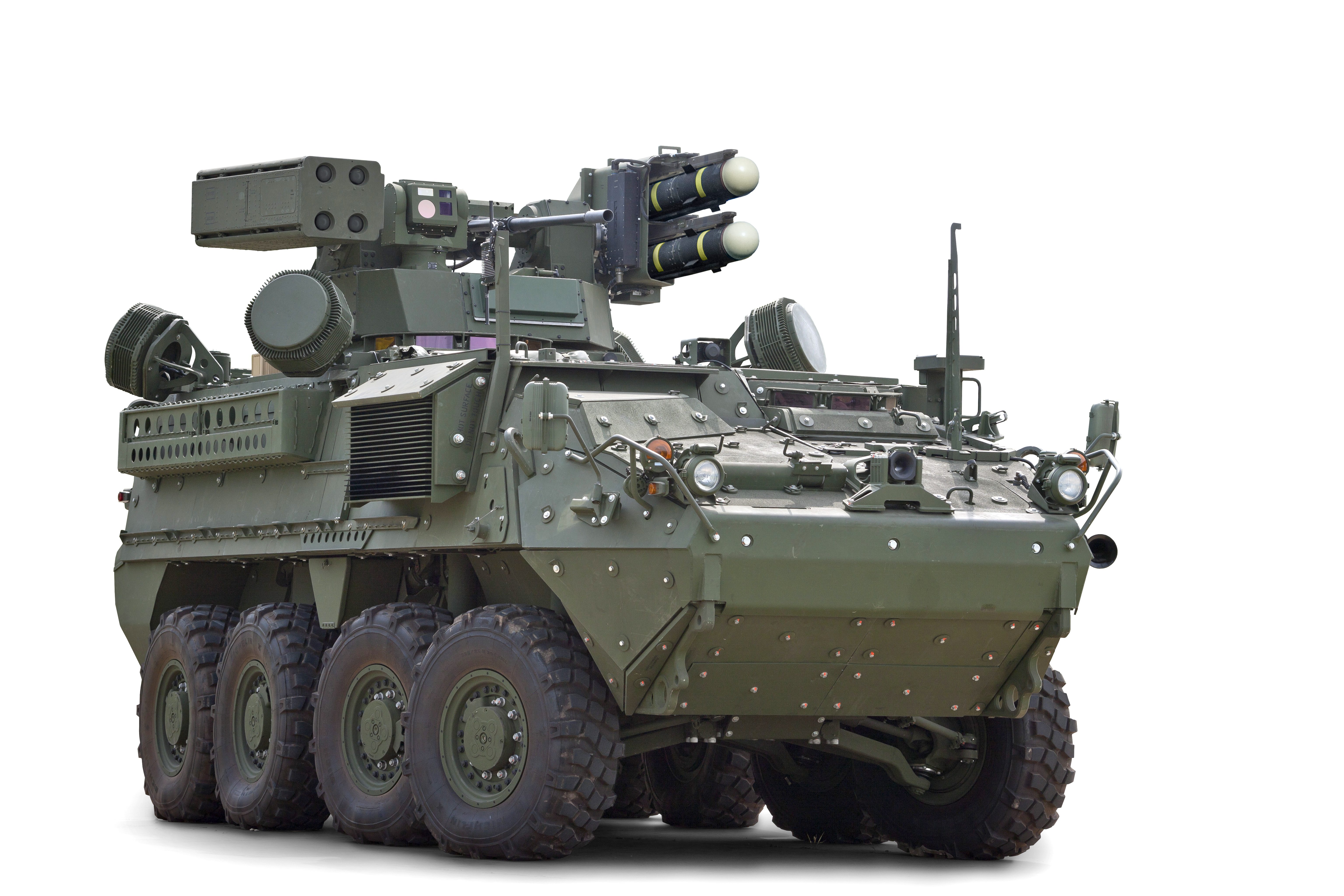 STRYKER IM-SHORAD (Initial Maneuver Short Range Air Defense)