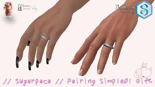 // sugarpaca // Pairing simple01 Gift