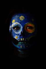 "Sesión de maquillaje ""La noche estrellada"" Inspirada en la obra de Vincent van gogh   Artista : Nidia Álzaga  Modelo : Joselyn Beltrán  Fotografía : TNT Spotter (Ramón Tapia)"