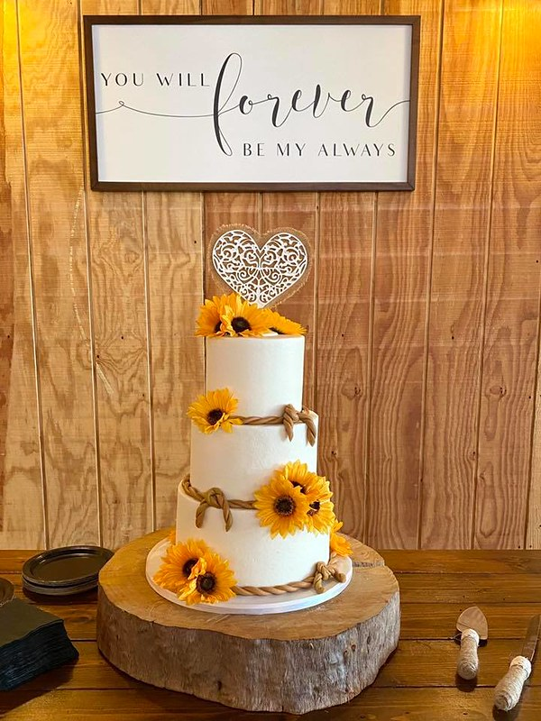 Cake from Southern Charm Cakery By Laura Hunter