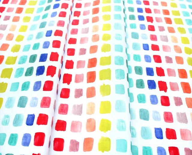 Michael Miller Fabrics Ink Unleashed DC9321-MULT Beautiful Palette