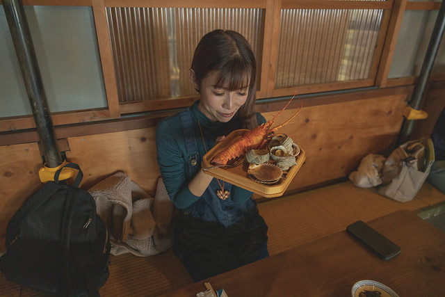 Ama Hut Hachiman Ise lobster