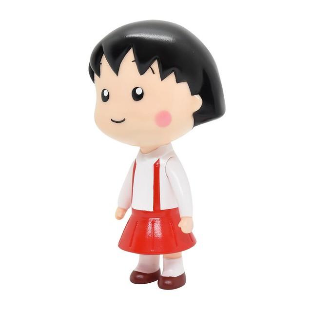 愛作夢的靜岡女孩!SOFVIPS《櫻桃小丸子》小丸子 軟膠人形玩具
