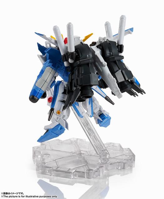 NXEDGE STYLE《鋼彈前哨戰》Ex-S鋼彈(藍紋迷彩規格) 新版配色再登場!