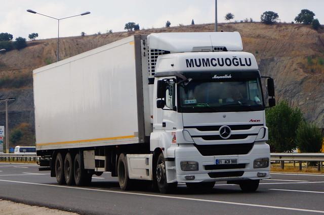 Mercedes-Benz Axor MP3 Bluetec5 1840 LS (2012) - Mumcuoğlu Frigo Lojistik Seyhan ilçesi, Adana, Akdeniz Bölgesi, Türkiye