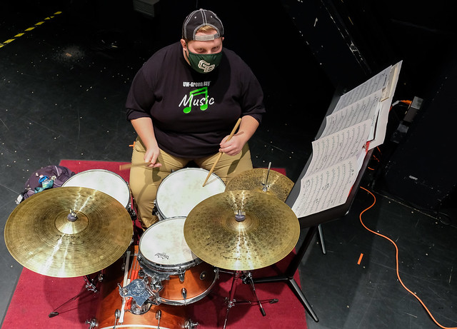UW-Green Bay: Resilient Music Students Play on Through Pandemic