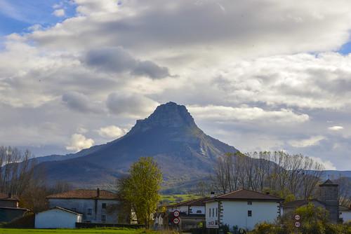 El Beriain desde Lizarrango