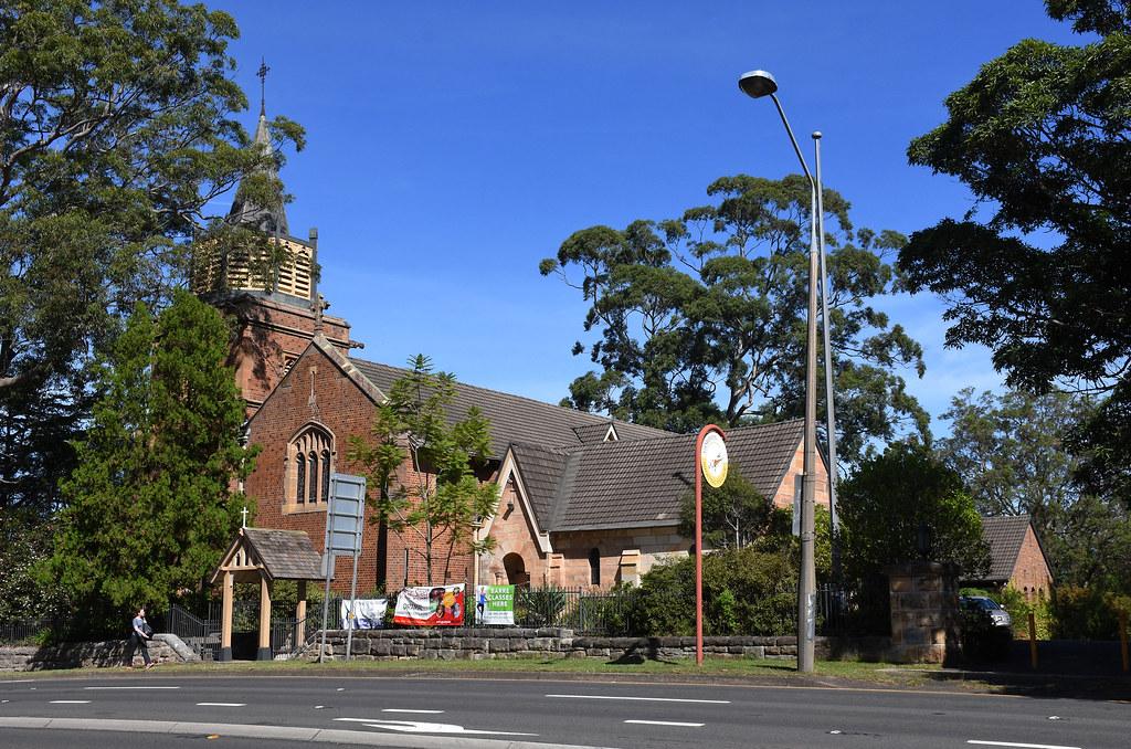 St John the Evangelist Anglican Church, Gordon, Sydney, NSW.
