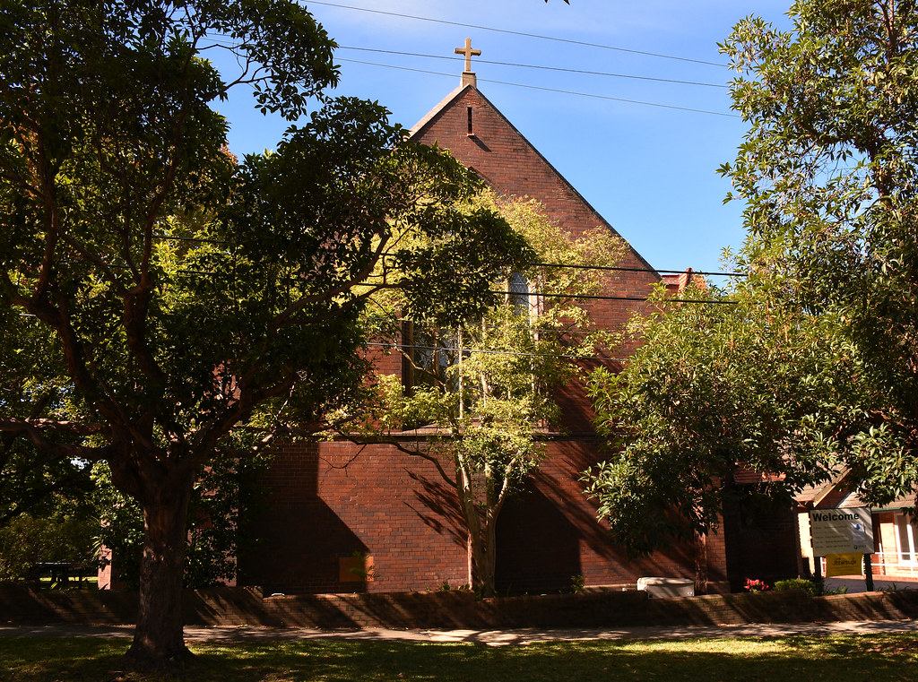 St Barnabas Anglican Church, Roseville, Sydney, NSW.