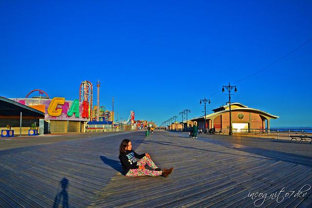 Me on the Coney Island Boardwalk Brooklyn New York City NY P00706 DSC_3128
