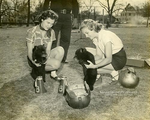 Baylor University-Bear Mascot-15-1950s