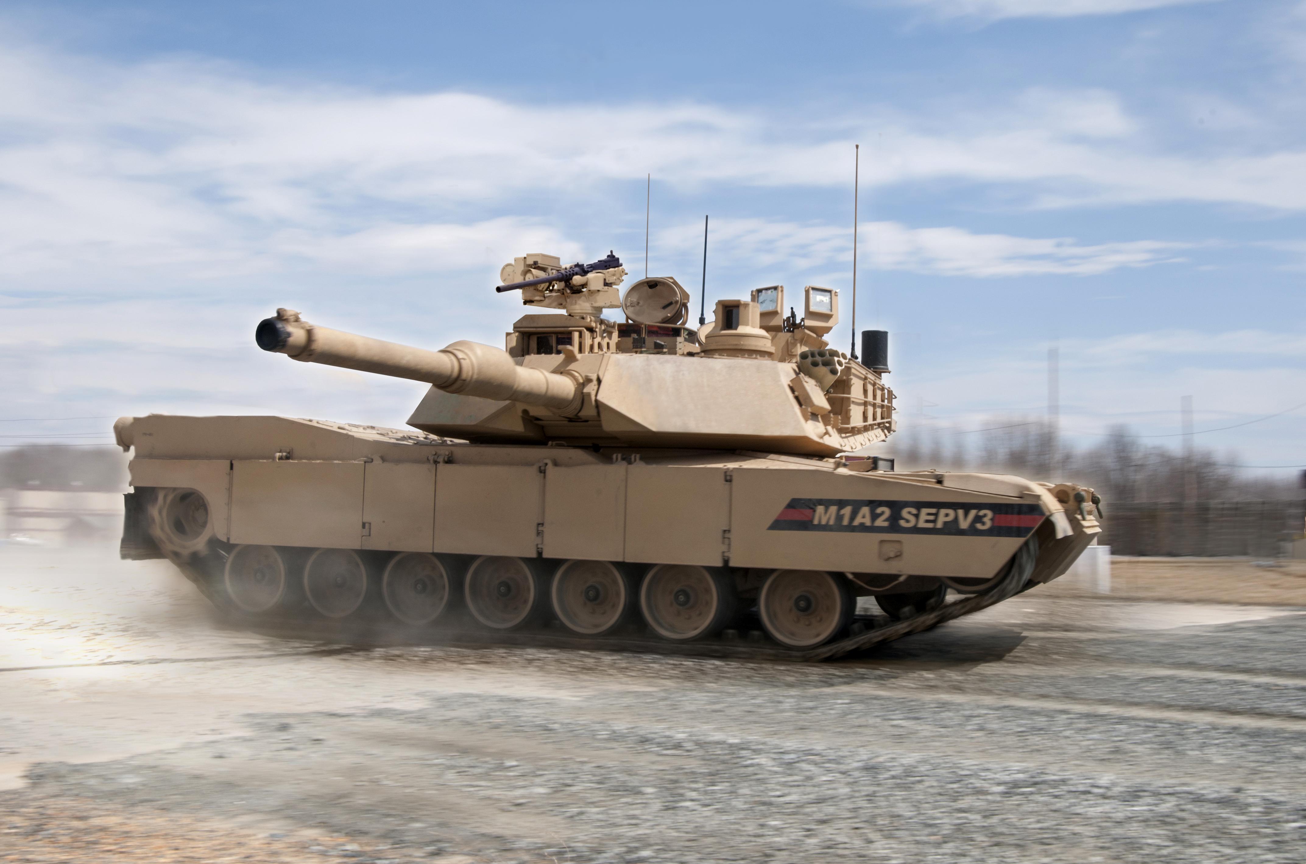 General Dynamics Land Systems M1A2 Abrams SEPv3