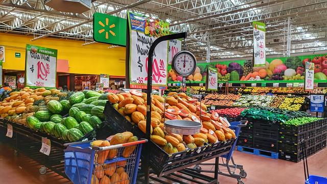 Walmart's Fruit and Vegetables