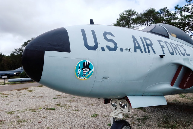USAF Armament Museum 2020, jet of the 95th Fighter Squadron