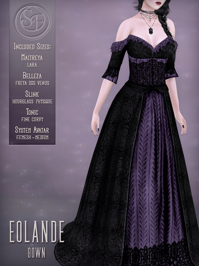 Senzafine . Eolande Gown Poster