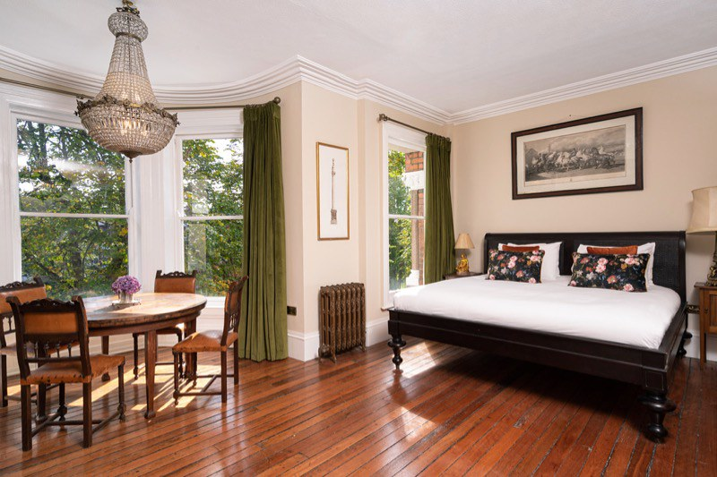 Spacious rooms at the Harrison Hotel, Belfast