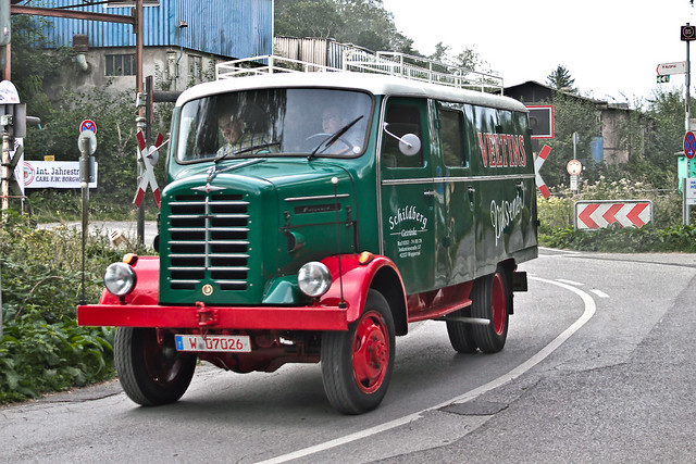 Borgward B 522 AO Kastenwagen (1372)