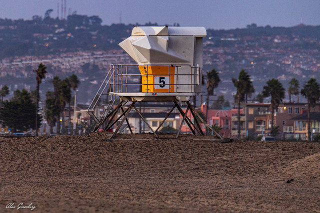 Lifeguard Station at Dog Beach is closed