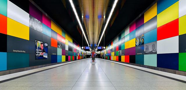 München; U-Bahnhof Georg-Brauchle-Ring