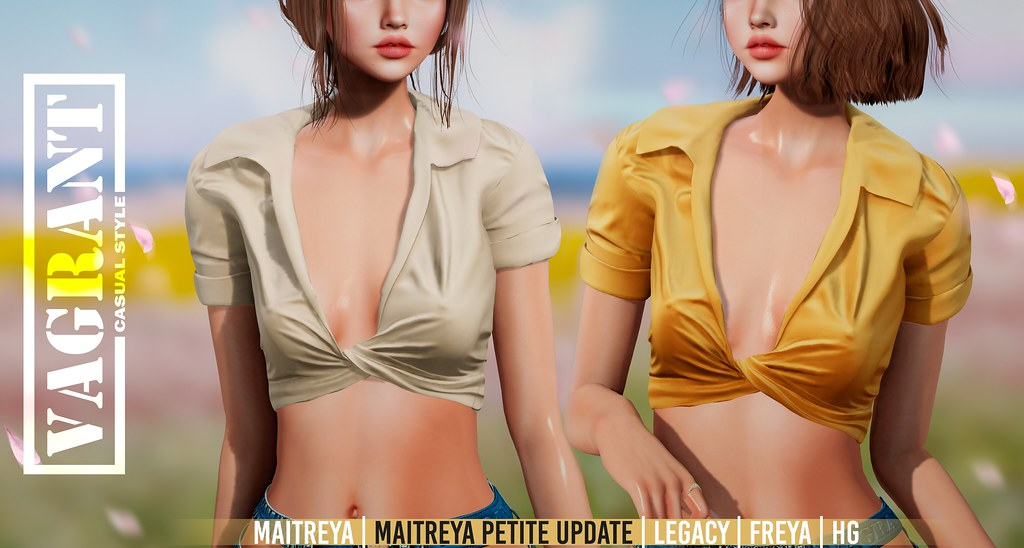 -[ vagrant ]- Monica Shirt Maitreya Petite Update @The Itty Bitty Titty Committee AND FB GIVEAWAY