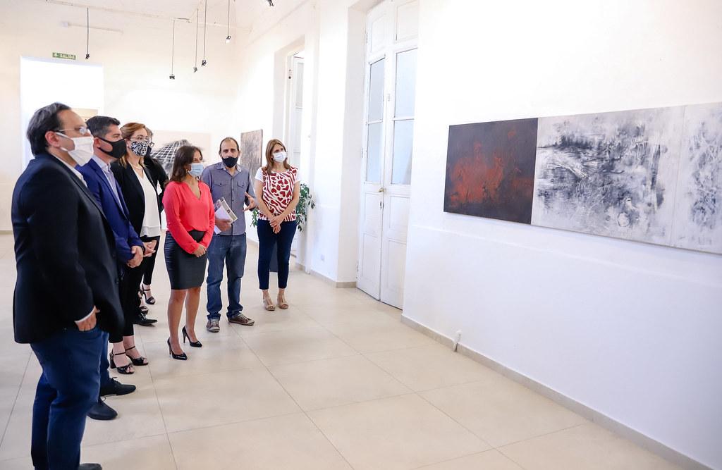 2020-11-09 Inauguración de la muestra El valor temporal de la memoria en la Estación San Martín