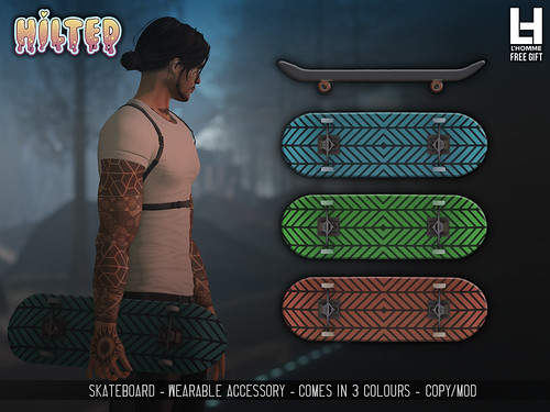 HILTED - Skateboard - L'Homme Magazine Free Gift