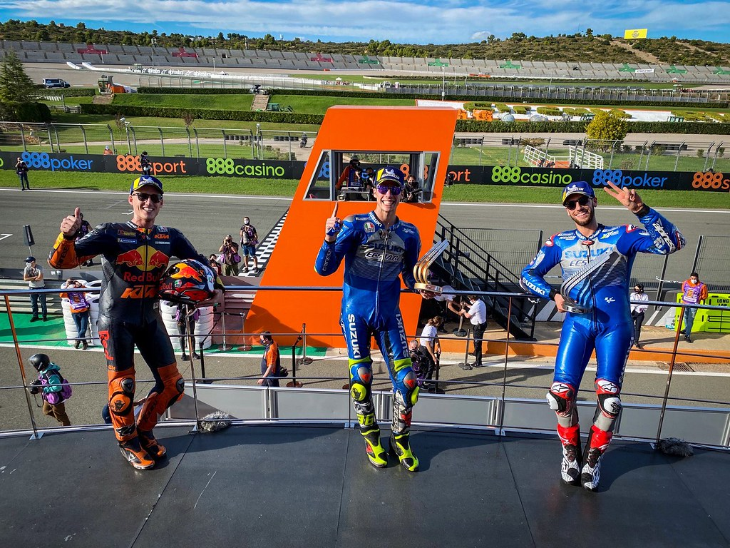 European GP Podium 2020