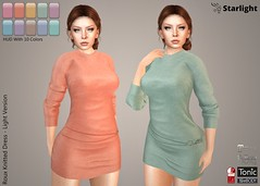 :: SA :: Roux - Knitted Dress with HUD - Light Version