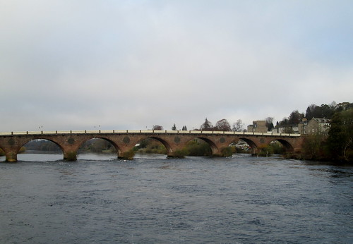 River Tay at Perth, Scotland