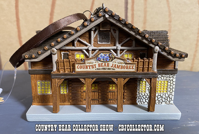 2020 Walt Disney World Country Bear Theater Ornament - CBCS #284
