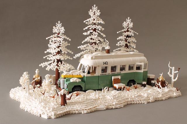Into the Wild | Snowy Magic Bus